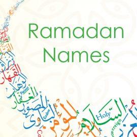 Ramadan Names