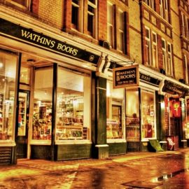 Watkins Bookshop London Jun 29