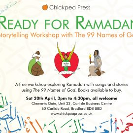 Ready for Ramadan: 99 Names Workshop, Apr 20